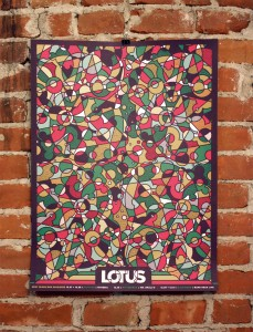Lotus NYE Run Poster 2012